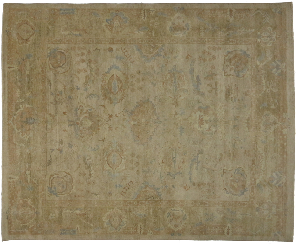 New Oushak 12 X 15 Area Rug 30138
