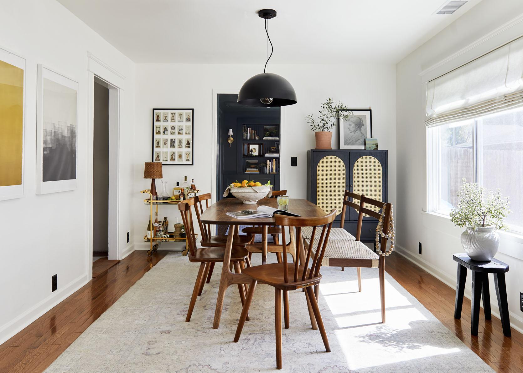 Sara's Living Room Dining Reveal