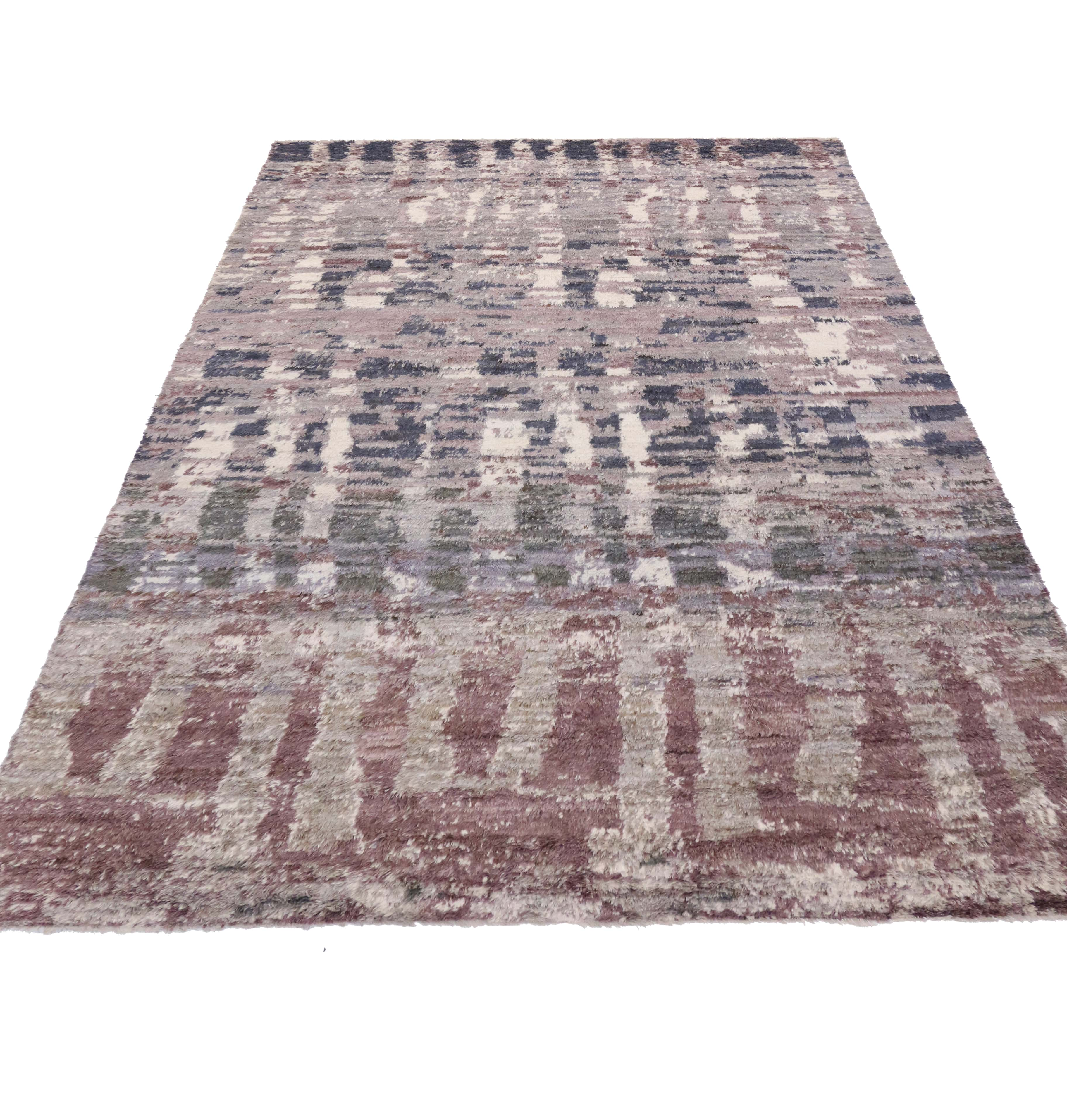 10 X 14 Abstract Moroccan Style Rug 80194
