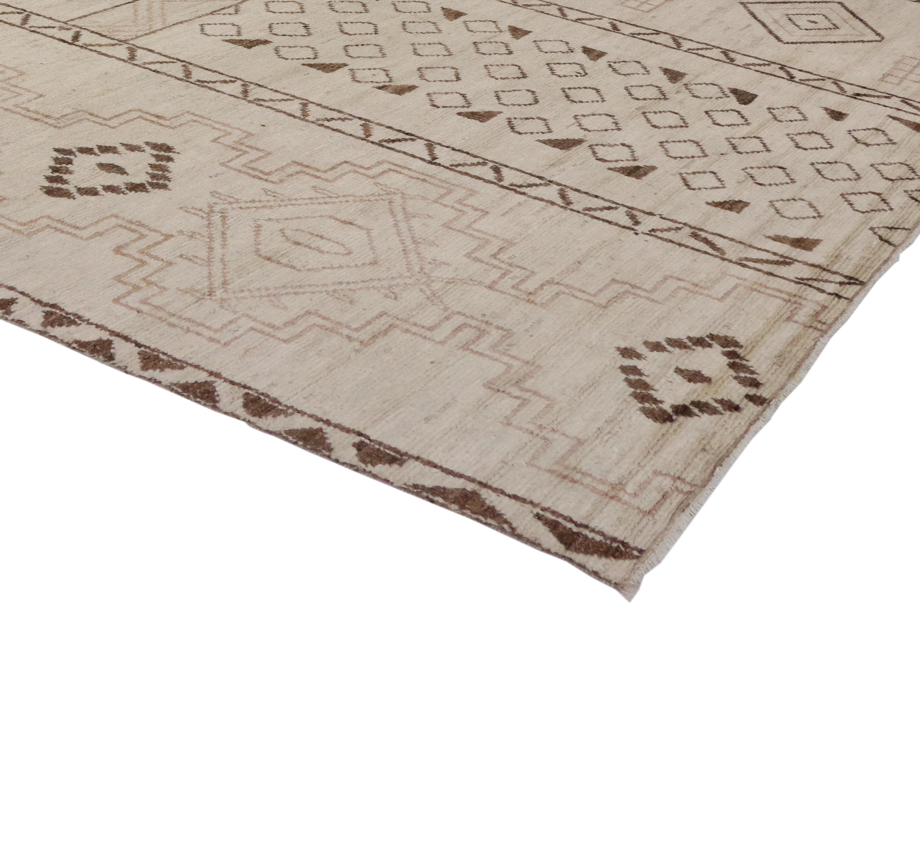 10 X 14 Contemporary Moroccan Rug 80205