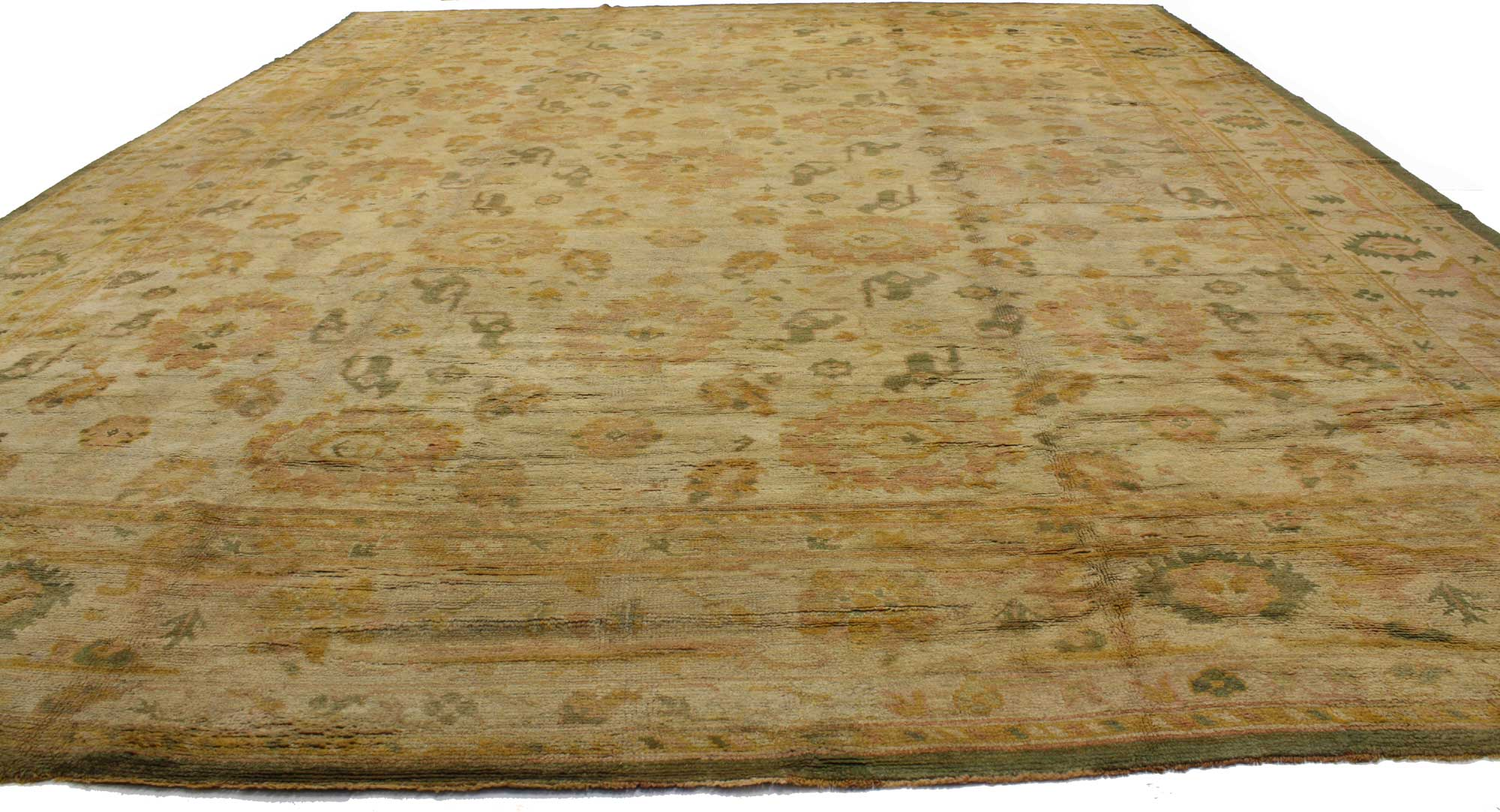 16 X 20 Antique Oushak Rug 73632