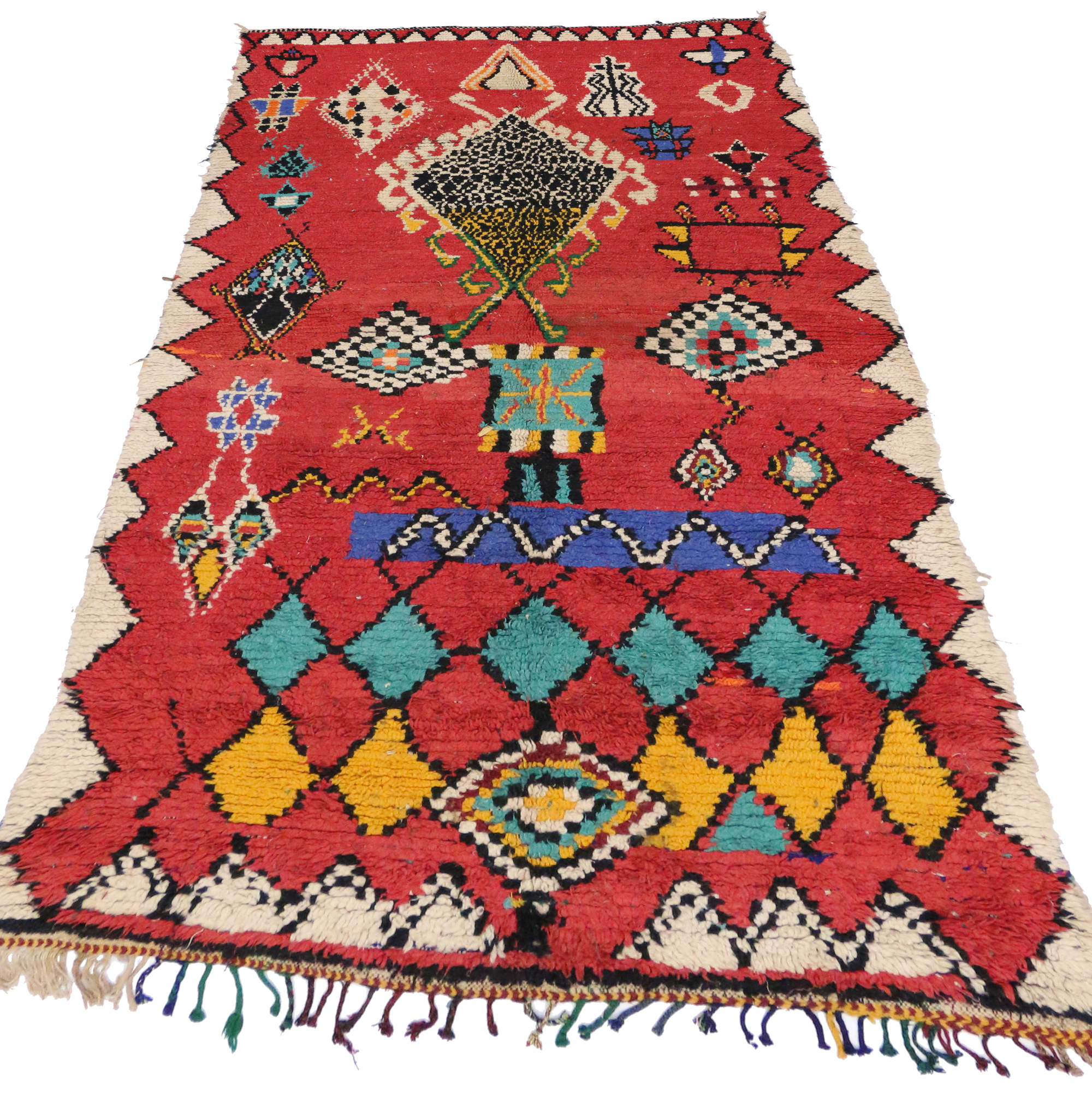 5 X 9 Vintage Moroccan Rug 20017