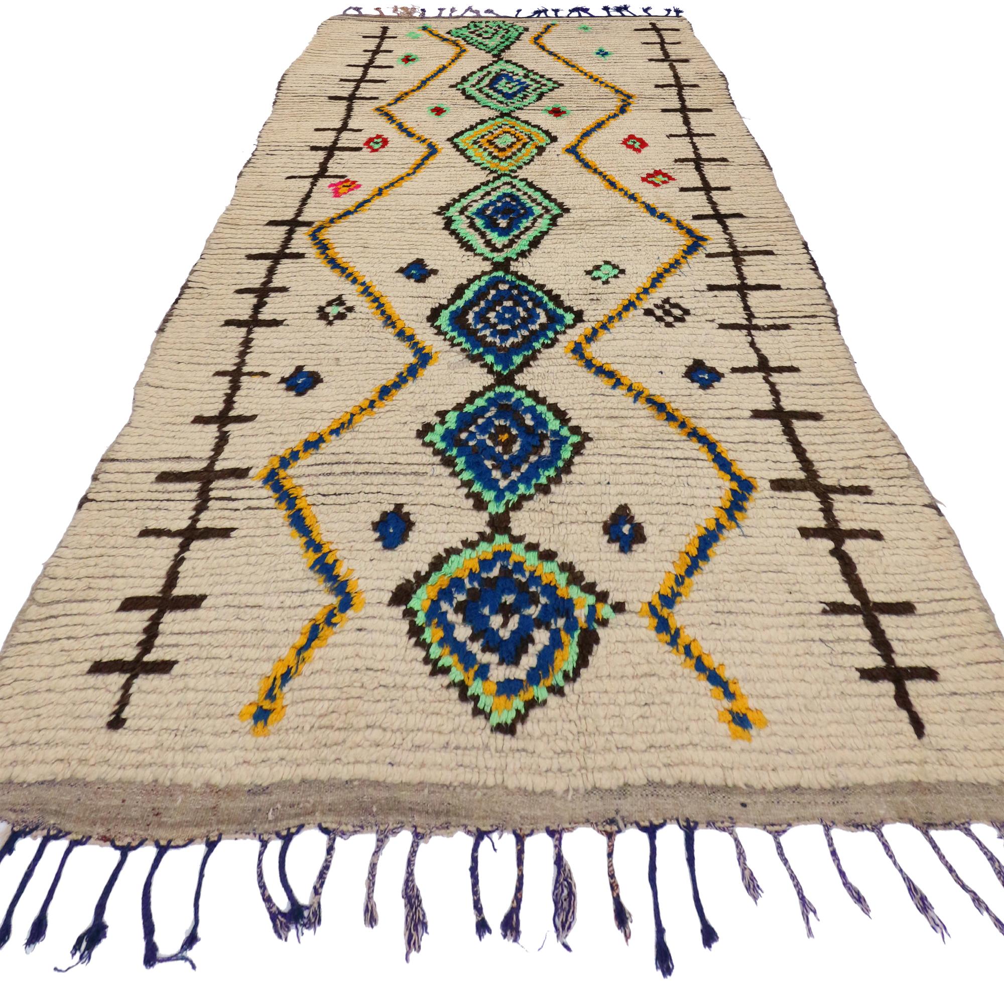 4 X 7 Vintage Moroccan Rug 20071