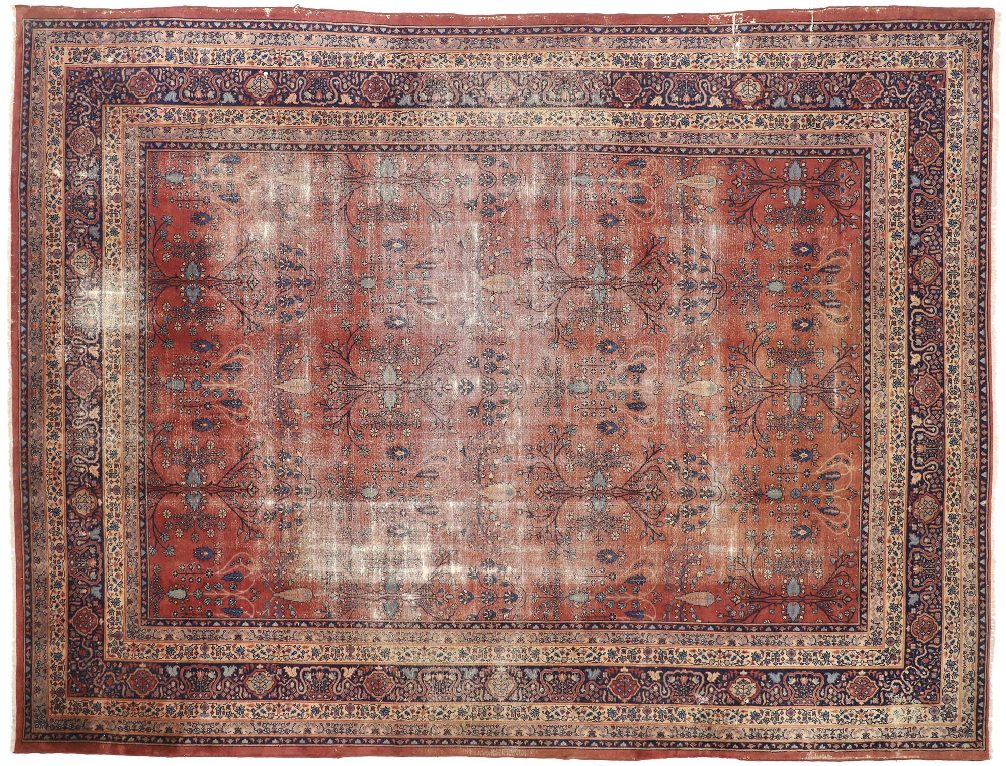 12 X 16 Antique Turkish Sparta Rug 77388