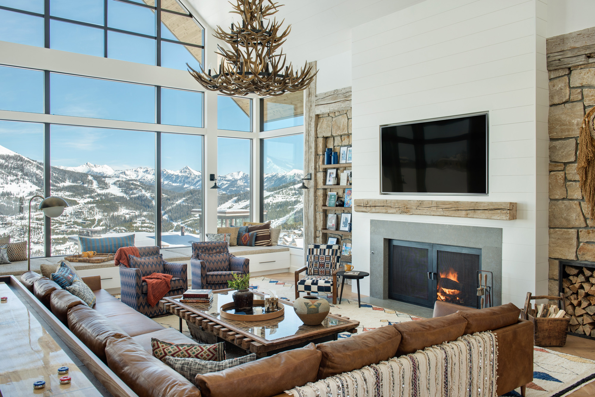 Ski Chalet Interior Design ski chalet mountain mama project by cashmere interior