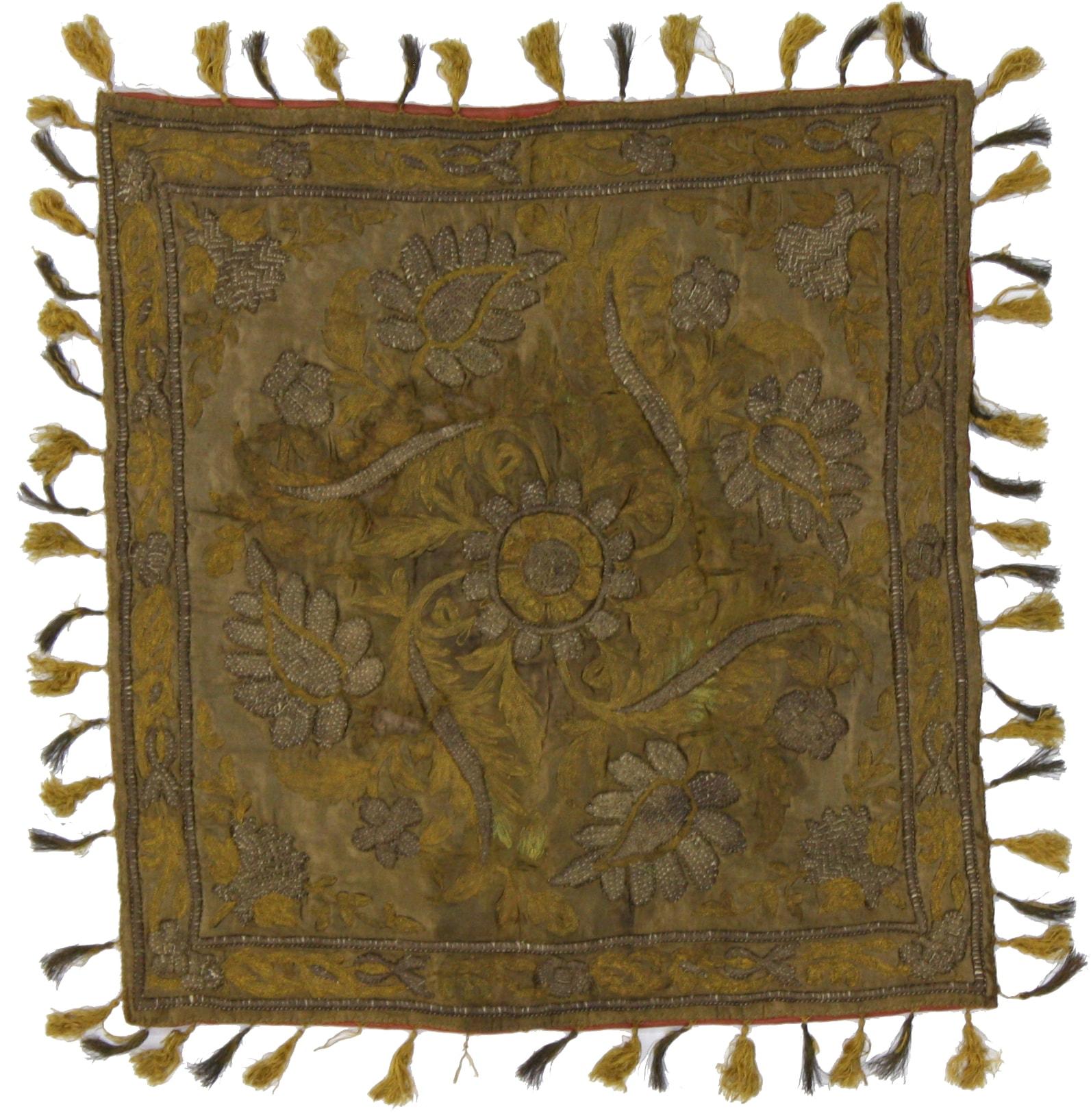 Antique Tapestry Oriental Rug 1 X 1