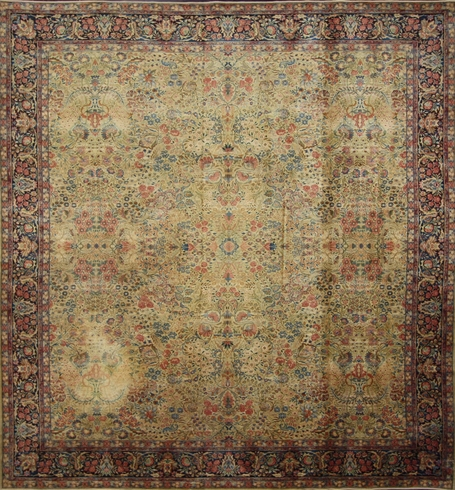 11 x 12 Antique Machine Made Rug 70684