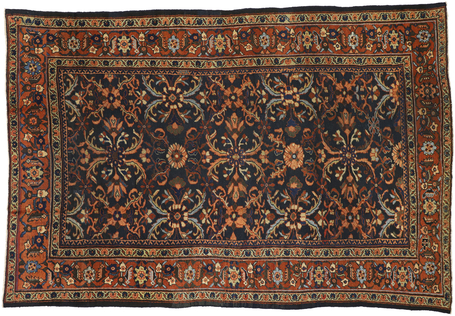 9 x 13 Antique Mahal Rug 72100