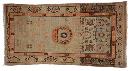 4 x 8 Antique Khotan Rug 73288