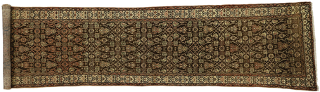 3 x 13 Antique Persian Malayer Rug 76558