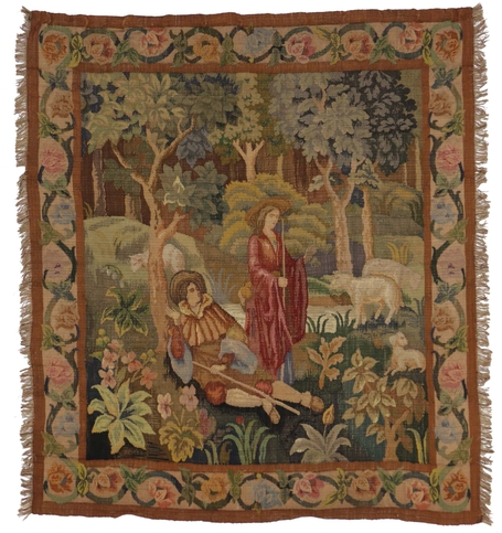 6 x 6 Antique Tapestry 76929