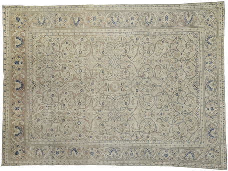 10 x 13 Antique Persian Malayer Rug 52452
