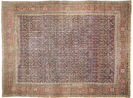 12 x 16 Antique Mahal Rug 77207