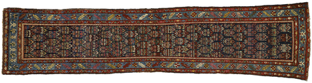 3 x 13 Antique Malayer Rug 77285