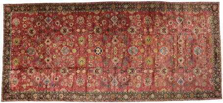 14 x 29 Antique Chinese Rug 77435