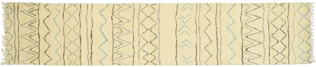3 x 13 Contemporary Moroccan Runner 80613