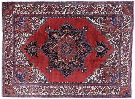10 x 13 Antique Persian Heriz Rug 77628