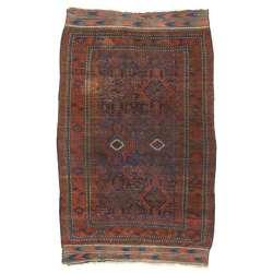 7 x 10 Antique Afghan Rug 76623