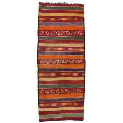 7 x 16 Vintage Moroccan Kilim Rug 20413