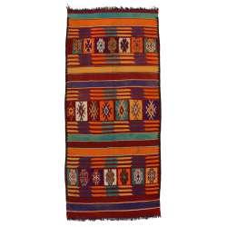 6 x 14 Vintage Moroccan Kilim Rug 20415
