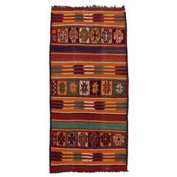 6 x 13 Vintage Moroccan Kilim Rug 20416