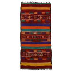 6 x 12 Vintage Moroccan Kilim Rug 20417