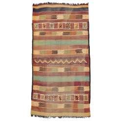 6 x 12 Vintage Moroccan Kilim Rug 20420