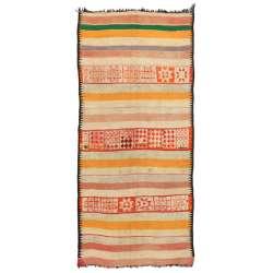 5 x 12 Vintage Moroccan Kilim Rug 20421