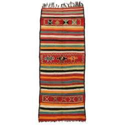 5 x 11 Vintage Moroccan Kilim Rug 20425