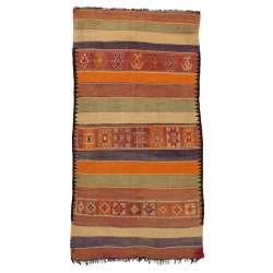 5 x 10 Vintage Moroccan Rug 20429