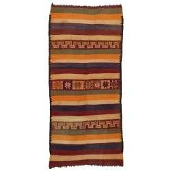 4 x 12 Vintage Moroccan Kilim Rug 20461