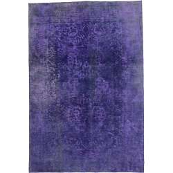 7 x 10 Vintage Overdyed Rug 60600