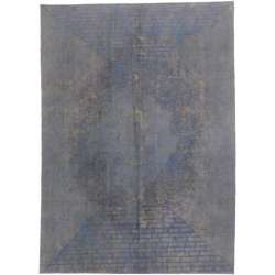 8 x 11 Vintage Overdyed Rug 60602