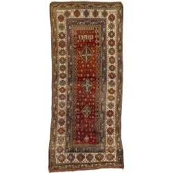 5 x 11 Antique Kurd Rug 71469