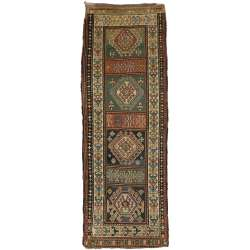 4 x 11 Antique Kazak Rug 72984