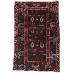 4 x 6 Antique Afghan Rug 74647