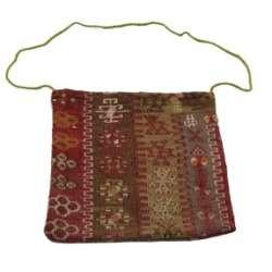Rug No.: 76640 01'02 x 01'05 Afghan Bag