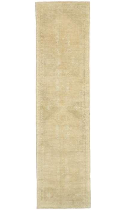 4 x 13 Vintage Oushak Rug 52498