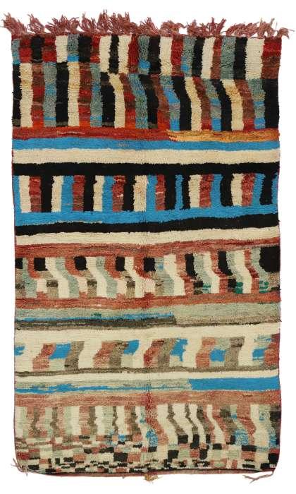 5 x 8 Vintage Moroccan Rug 20076