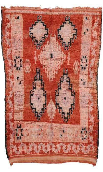 5 x 9 Vintage Moroccan Rug 20777