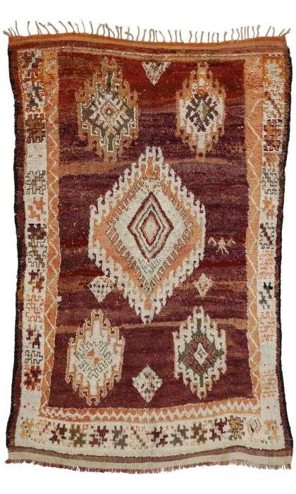 6 x 9 Vintage Moroccan Rug 20778