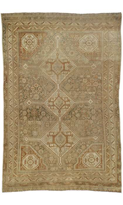 5 x 8 Antique Shiraz Rug 52434
