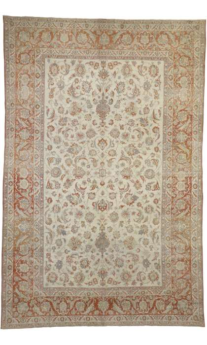 8 x 12 Antique Persian Isfahan Rug 52435