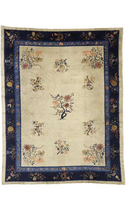 9 x 11 Antique Peking Rug 77230