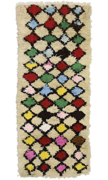 2 x 6 Vintage Moroccan Rug 20837