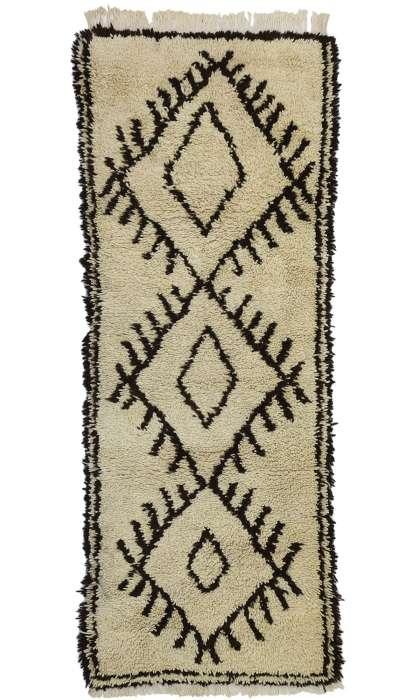 3 x 7 Vintage Moroccan Rug 20841