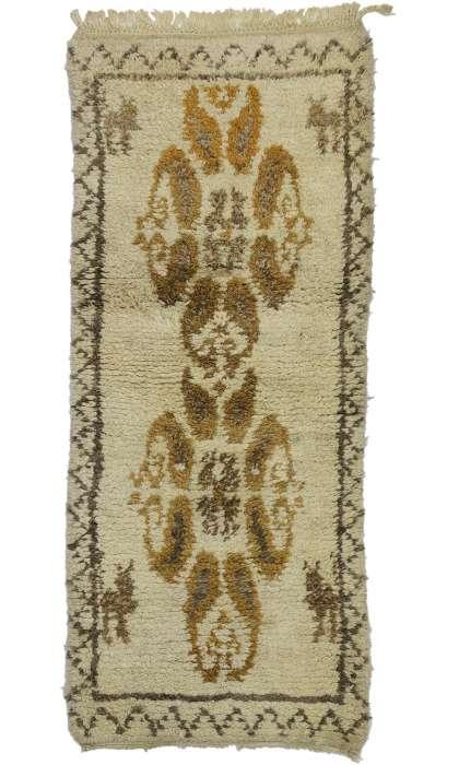3 x 7 Vintage Moroccan Rug 20844