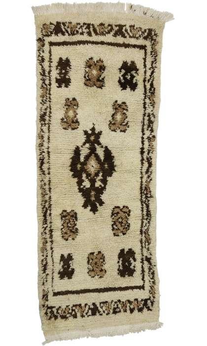 3 x 7 Vintage Moroccan Rug 20866