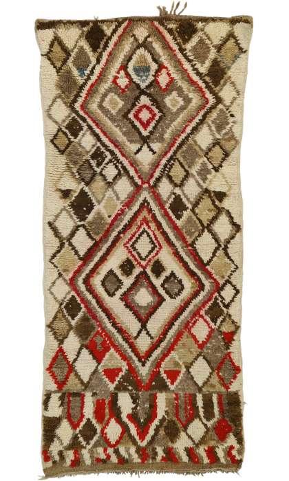 3 x 7 Vintage Moroccan Rug 20871
