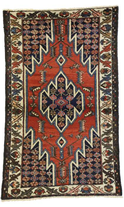3 x 5 Antique Hamadan Rug 50405